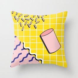 Bacterium Throw Pillow