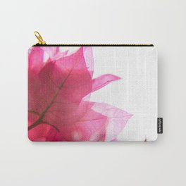 Bright Bougainvillea Carry-All Pouch