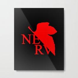 Nerv Logo Metal Print