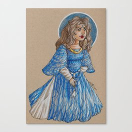 Moiraine Damodred  Canvas Print