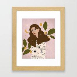 Constellation Framed Art Print