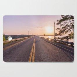 Sunset Road Cutting Board