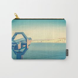 Le Lookout Over Nice Carry-All Pouch