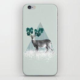 Deer, Stag, Forest Animal, Woodlands iPhone Skin