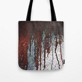 Bloody Rust Drips Tote Bag