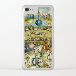 Hieronymus Bosch The Garden Of Earthly Delights Clear iPhone Case