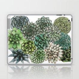 An Assortment of Succulents Laptop & iPad Skin