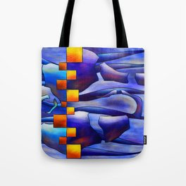 Montessimia V1 - ancient fossils Tote Bag