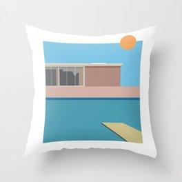 A Bigger splash Throw Pillow