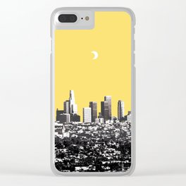 LOS ANGELES Clear iPhone Case