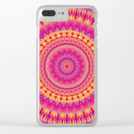 Mandala 414 Clear iPhone Case