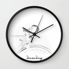 sexy bike Wall Clock