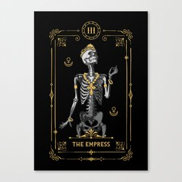 The Empress III Tarot Card Canvas Print