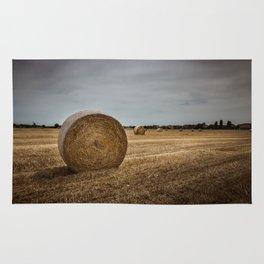 Bales of hay Rug