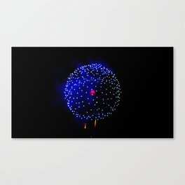 Cellular Firework Canvas Print