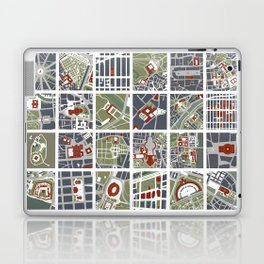 Urban fragments I of‪ NewYork‬, ‎Paris‬, London‬, Berlin‬, Rome‬ and Seville Laptop & iPad Skin