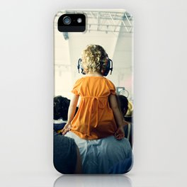 LuLu at Bon Iver iPhone Case