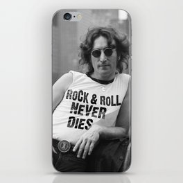 Rock and Roll Never Dies iPhone Skin