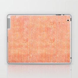 Stockinette Orange Laptop & iPad Skin