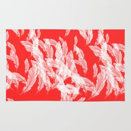 Pink feathers Rug