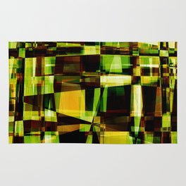 Abstract Achitecture Rug