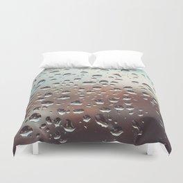 Wet Glass Duvet Cover