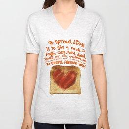 Spread Some Love Unisex V-Neck