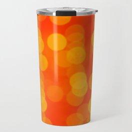 Orange Disco Fever Travel Mug
