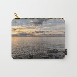 Sunset over the Ocean 7-21-18 Carry-All Pouch
