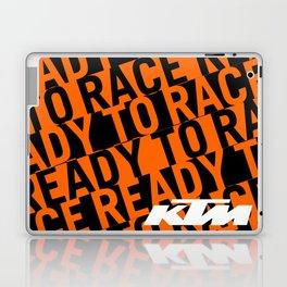 KTM Orange Laptop & iPad Skin