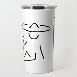 Mexican South America sombrero Travel Mug