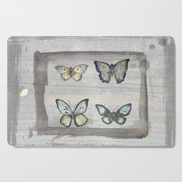 Butterfly study Cutting Board