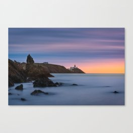Howth lighthouse - Ireland (RR200) Canvas Print