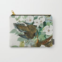 Carolina Turtle Dove, Birds of America by John James Audubon Carry-All Pouch
