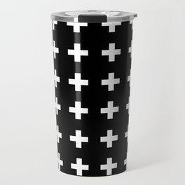 Swiss Cross Scandinavian Design Travel Mug