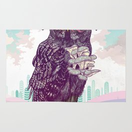 Journeying Spirit (Owl) Rug