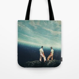 The Earth was crying and We were there Tote Bag