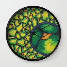 Magnifying Wall Clock