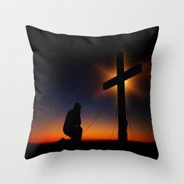 Christian Faith Throw Pillow