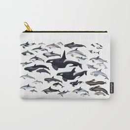 Dolphin diversity Carry-All Pouch