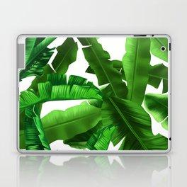tropical banana leaves pattern Laptop & iPad Skin