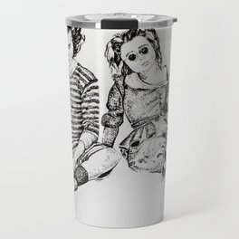 Sweeney Todd Fan Art illustration Travel Mug