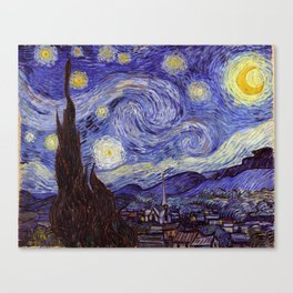 Vincent Van Gogh Starry Night Canvas Print