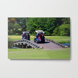 A Day Of Golf Metal Print