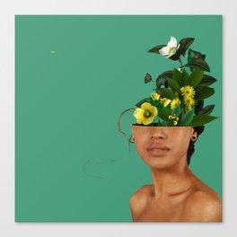Lady Flowers VII Canvas Print