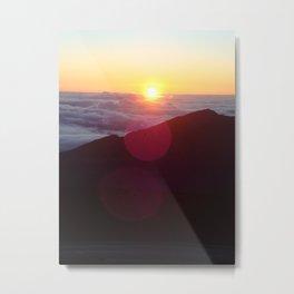 Sunrise over Mt. Haleakala Metal Print