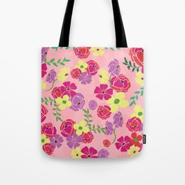 Bonny blooms Tote Bag