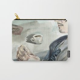 Morning by the Hudson river Carry-All Pouch