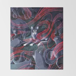 The Thing Throw Blanket