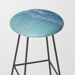 Turquoise Sea Bar Stool